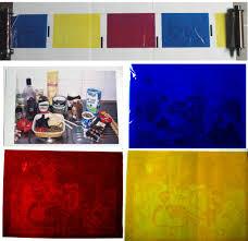 Types of textile printing