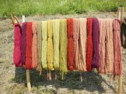 Process of yarn dyeing