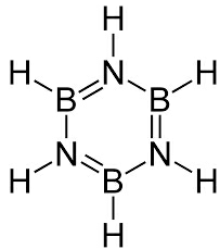 Structure of inorganic benzene