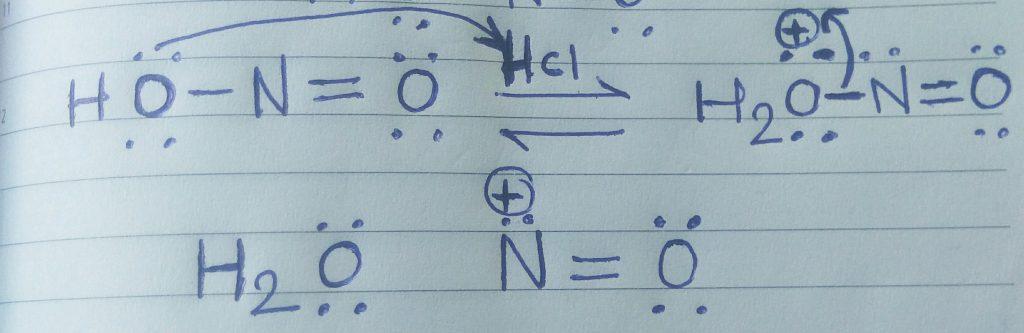 benzene diazonium chloride mechanism