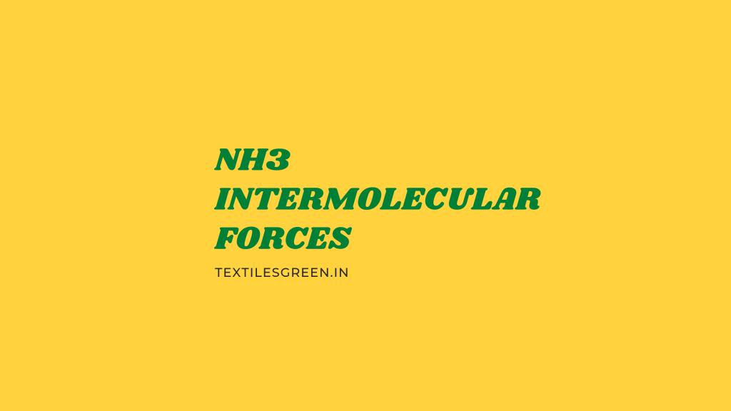 nh3 intermolecular forces
